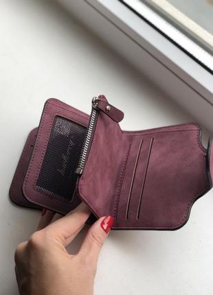 Кошелек baellerry forever mini exclusive color burgundy3 фото
