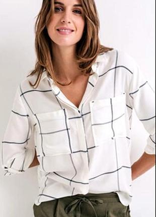 Уютная фланелевая рубашка