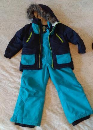 Зимний термо костюм куртка полукомбинезон rodeo c&a