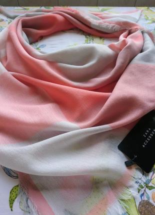 Платок шарф zara accessories
