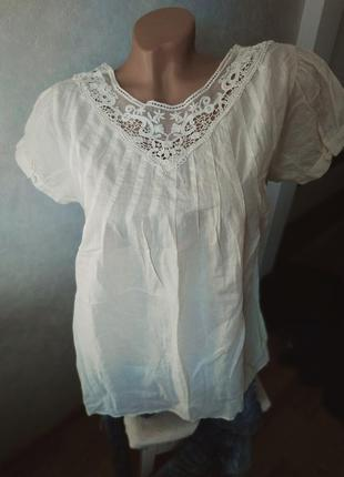 Блуза цвета слоновьей кости