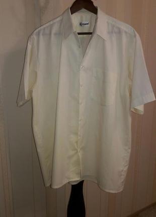 - 50% летняя фирменная натуральная мужская рубашка тениска