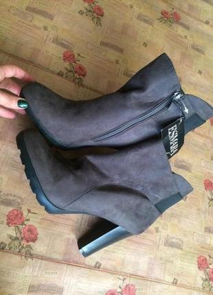 Стильные ботинки esmara 40р