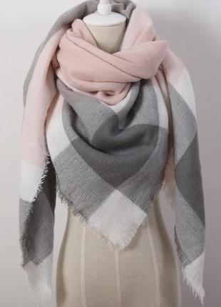 Платок шарф  теплый