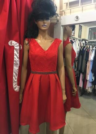 Ліквідація товару до 29 грудня 2018 !!! красное платье little mistress
