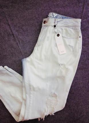 Рваные джинсы  бойфренды only