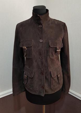 Замшевая куртка max mara
