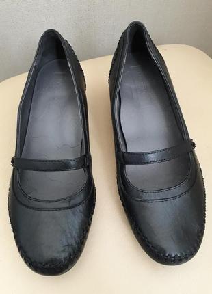 38 р. footglove кожаные мягкие классические туфли