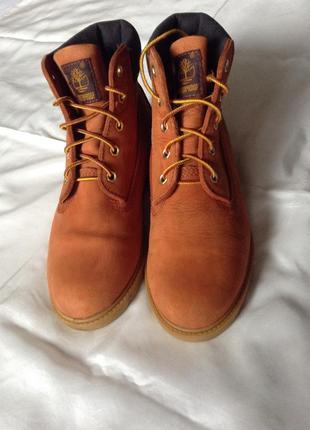 Ботинки timberland®. оригинал. 38(24,5). терракота .