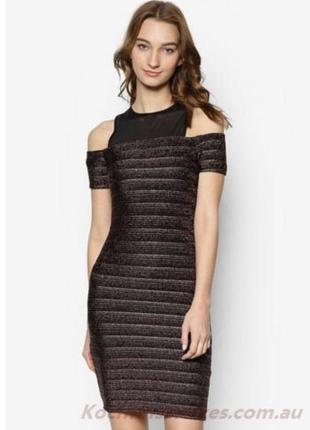 Платье с открытыми плечами new look