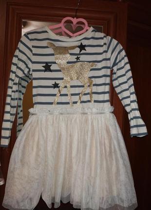 Пышное платье для маленькой модницы