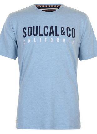 Футболка мужская л50р. soul cal англия.новая
