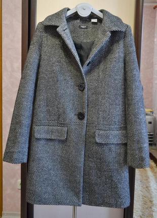 Шерстяное пальто redoute франция