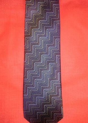 Шелковый дизайнерский галстук ручной работы