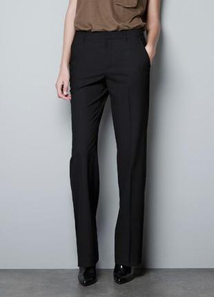Классические прямые брюки zara