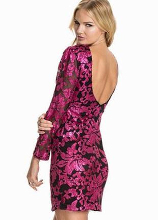 Красивое платье в пайетки club l (980)