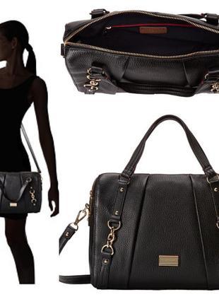 Кожаная сумка томми хилфигер