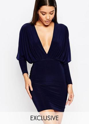 Ліквідація товару до 29 грудня 2018 !!!  платье с глубоким вырезом спереди club l