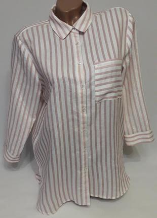 Рубашка с 3/4 рукавчиком