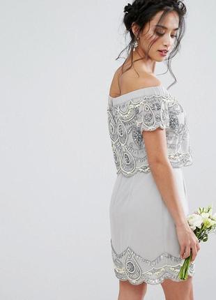 Декорированное платье мини maya petite