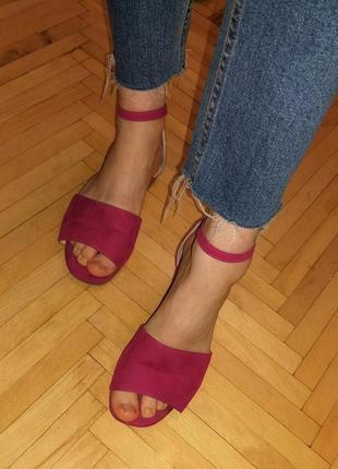 Босоножки туфли лодочки new look