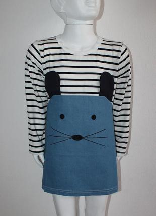 Очень милое платье с мышкой