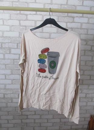 Тонкий свитерок tiramisu