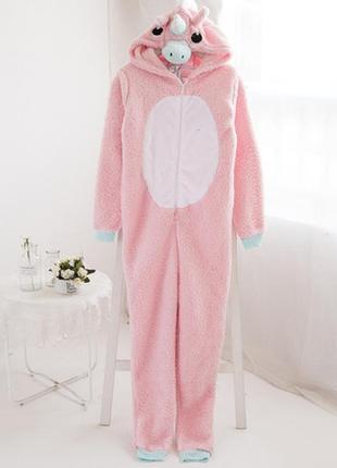 Женская пижама единорог кигуруми