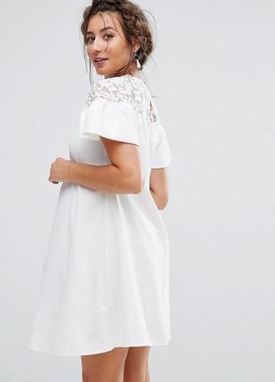 Ліквідація товару до 29 грудня 2018 !!!   платье с кружевом и оборками queen maternity