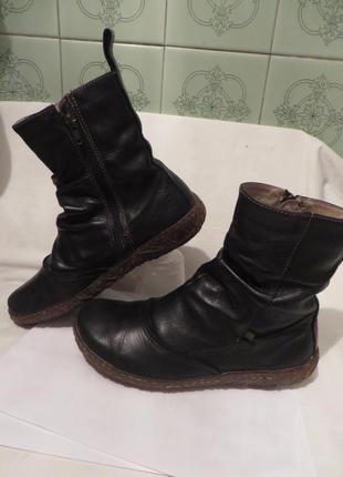 Ботинки кожа el naturalista 38 размер