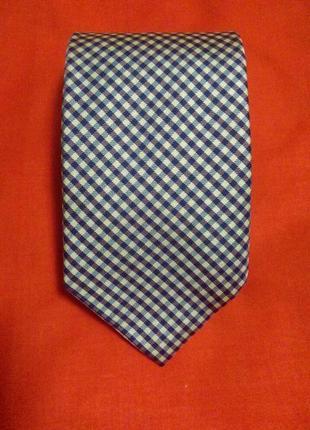 Шелковый галстук ручная работа