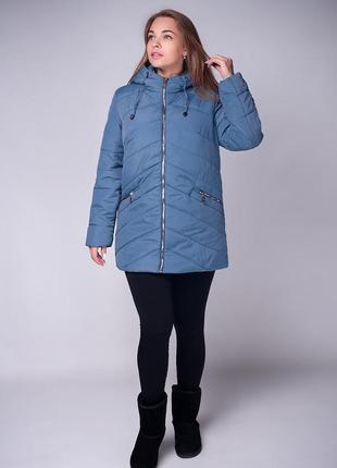 02beda7183b Куртка больших размеров на холодную осень