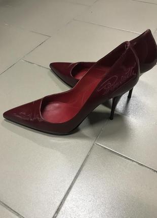 Туфли лодочка, лаковые