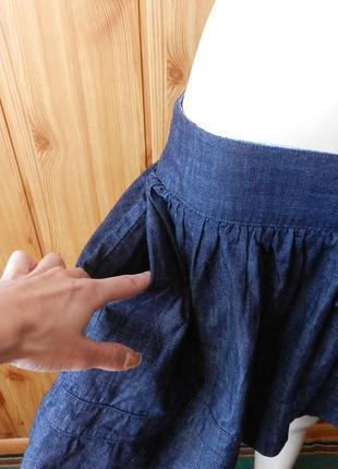 ⛔⛔юбка джинс2 фото