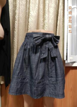 ⛔⛔юбка джинс3 фото