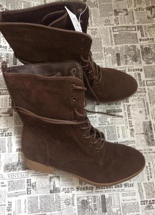 Отличные ботинки 37 р. esmara