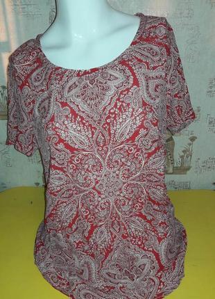 Мегашикарная блуза per una от маrks and spencer