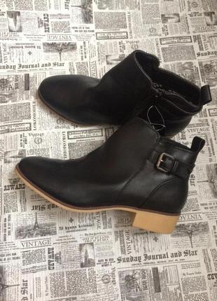 Классные ботинки esmara 37,38 р