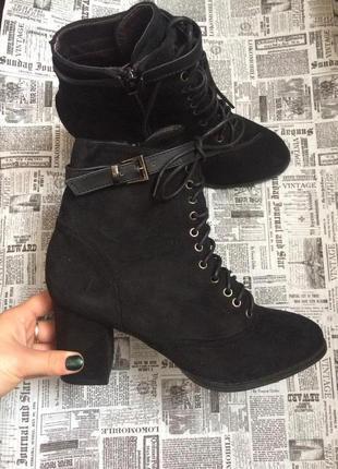 Шикарные ботинки, 38  р esmara