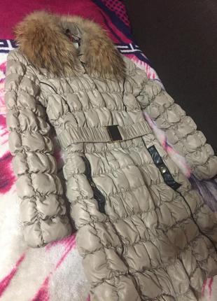 Куртка пуховик s размер