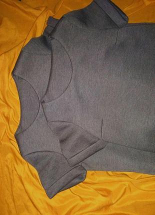 Тёплый серый топ kira plastinina3