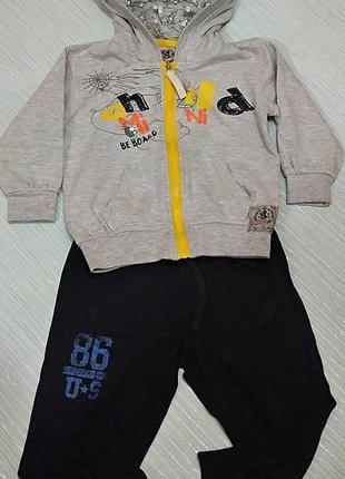 Модный спортивный костюм на мальчика italy