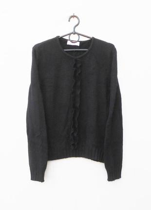 Осенний зимний свитер с ангоры с длинным рукавом marco pecci