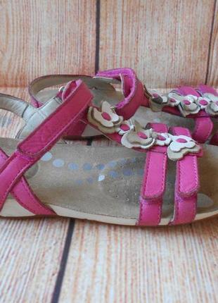22,3см-33,5р clarks кларкс кожаные сандалии босоножки на девочку арт.3170