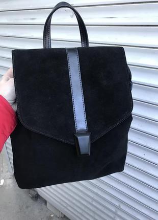 Нереально классный кожаный рюкзак5