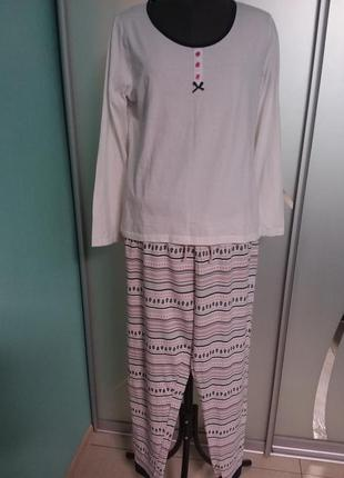 Хлопковая трикотажная пижамка