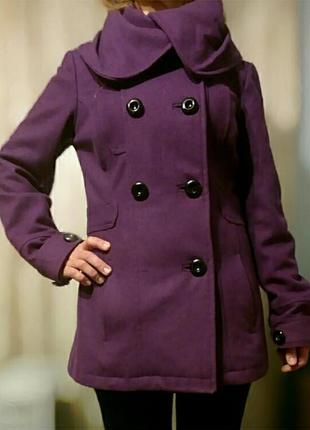 Шерстяное пальто vero moda