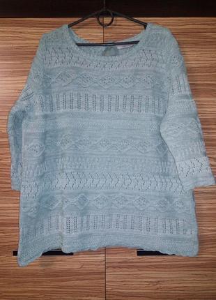 Очень милый свитер большого размера