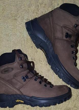 Треккинговые,итальянские,кожаные ботинки bama c технологией hiking plus
