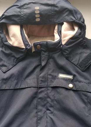 Зимняя куртка reima р.122 большемерит мальчику, замеры